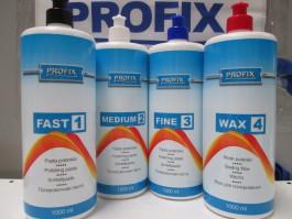 Fast + Medium + Fine + Wax