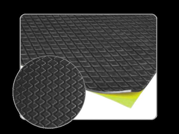 20 plaques de bitume insonorisante adhésive 250mm x 500mm
