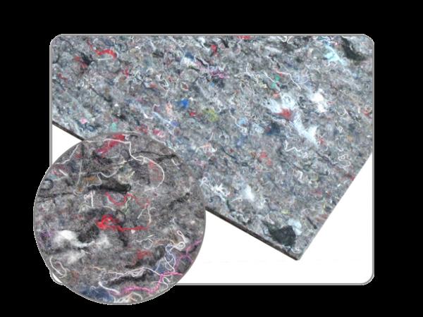 2 plaque de bitume insonorisante adhésive avec couche de feutre 500mm x 500mm