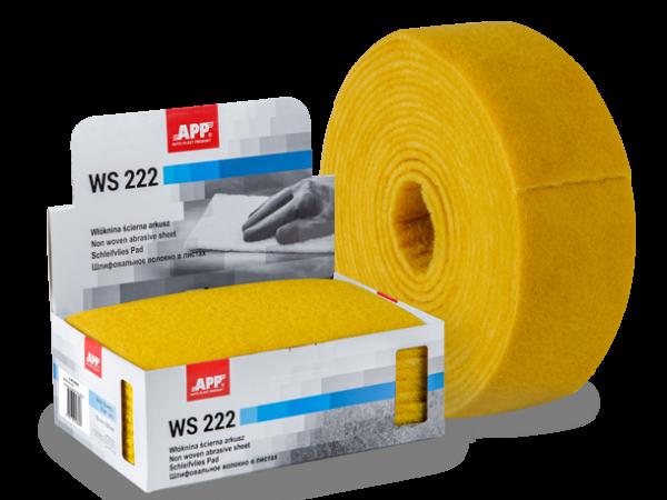 Rouleau de fibre abrasive 100mmx10m jaune très fin = 1000/1200