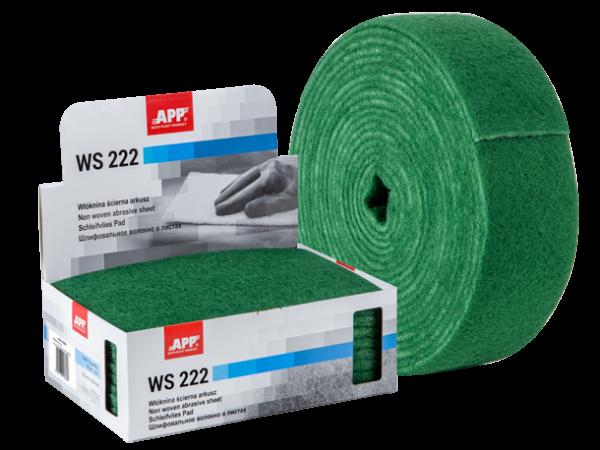 Rouleau de fibre abrasive 100mmx10m vert gros = P120