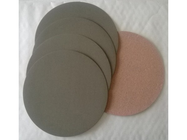 4 disques abrasif velcro pour poncer à l'eau grain 1500 format d150  APP HD