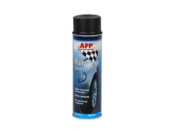 aerosol de peinture 500ml noir mat