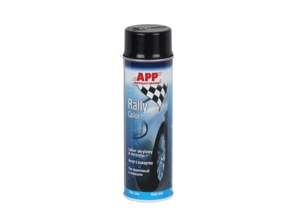 aerosol de peinture 500ml noir brillant