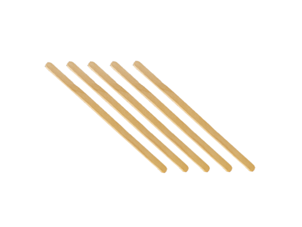 10 batons en bois touillettes pour mélange