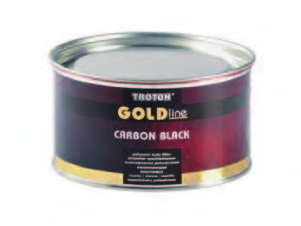 Mastic fibre de carbone GOLD LINE CARBON BLACK 1L / 1,77Kg
