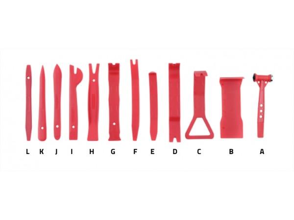 Set de 12 outils nylon de démontage