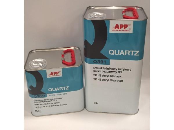 Vernis + durcisseur Quartz APP  5l+2,5l=  7,5L VOC-420g/l